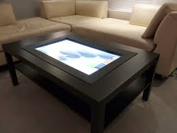 touch screen coffee table touch screen computer coffee table along with attractive diy touch screen coffee