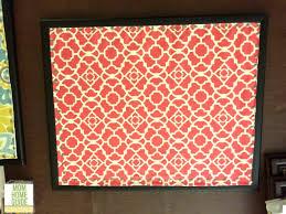 Fabric Covered Memo Board