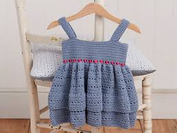 Free Crochet Dress Patterns Unique Free Crochet Baby Dress Pattern World Craft Week Simply Crochet