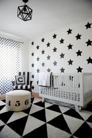 modern black white. Black And White Geometric Nursery Love The Mix Of Modern Patterns Ubbiworld N