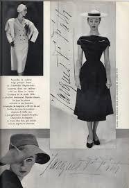 1950 Fashion Designers Elegant Looks From Designer Jacques Fath 1950 Vintage