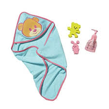 Buy <b>Zapf Creation Baby Born</b> Bathing Accessory Set Online at Low ...