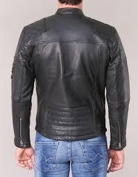 pepe jeans lennon 19 black jackets mgp6yr