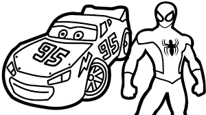 1280x720 how to draw disney cars lightning mcqueen coloring pages toys