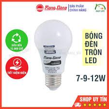 Bóng Đèn Tròn LED Rạng Đông Tiết Kiệm Điện 7-9-12W - Bóng đèn