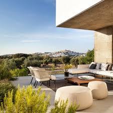 modern outdoor patio sets aluminium