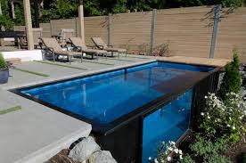 Pool Designs For Small Backyards Extraordinary Modpools Repurposes Used Shipping Containers As Swimming Pools And