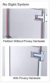 public bathroom partition hardware. commercial restroom trend: us customers desire more privacy in public restrooms bathroom partition hardware