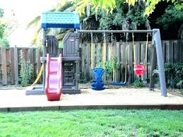 little tikes play structure dler swing set home playground for dlers outdoor modern canada