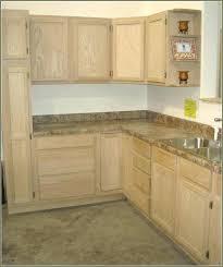 kitchen cabinets unfinished oak unfinished wood kitchen cabinets canada