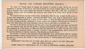 postal history corner royal air forces escaping society saturday 19 2013