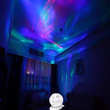 Mood Lighting Living Room Soaiy Rotation Sleep Soothing Color Changing Aurora Night Light