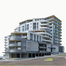 modern residential building.  Building And Modern Residential Building O
