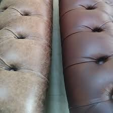 leather sofa restoration by the pro s