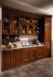 Cucina classica in legno ecologica etrusca aran