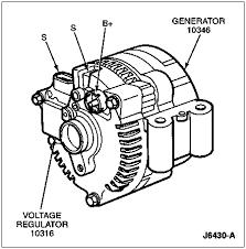 wiring alternator to work properly ford bronco forum click image for larger version 96alternatorterminalsand regultorlocation gif views 1850 size