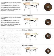 inch round tables seat how many 60 table seats diameter h