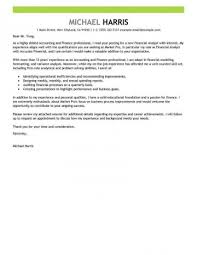 Accounting Job Cover Letter Cool Cover Letter Format For Job Application Accounting Finance Emphasis
