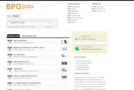 com blog archive a job site on bpo job