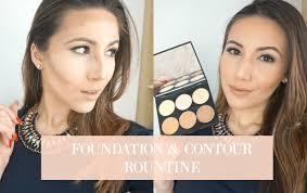 my foundation contour routine sleek makeup cream contour kit through mona s eyes you