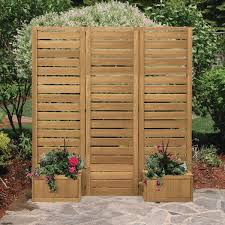yardistry 5 x 5 wood privacy screen