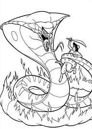 Aladdin Contro Jafar 2 Disegni Da Colorare Gratis Disegni Da