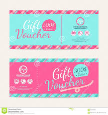 automotive gift certificate template voucher stock vector image free car detail