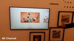 the frame smart tv 2017 samsung un55ls003afxza flat 55 led 4k uhd