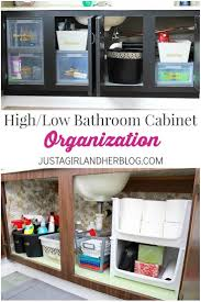Bathroom Cabinet Organizer 17 Best Images About Home Bathroom On Pinterest Curling