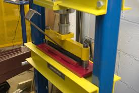 sheet metal folding press brake attachment