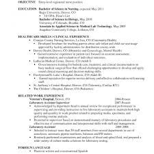 Entry Level Nurse Resume Objective For Nursing Resume Breathtaking School Nurse Statement 71