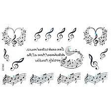 799 5 Pcs Dočasné Tetování Voděodolné Papír Tetovací Nálepky Waterproof