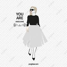 Vector Fashion Girls Fashion Girl Character Beauty Png And Vector