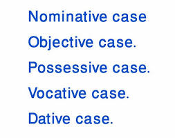 English Grammar With Bengali Nominative Case Objective Case