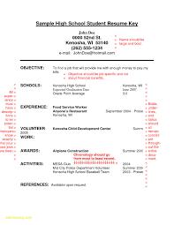 High School Resume Builder Luxury 28 Resume Templates For High