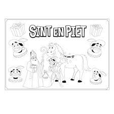 Placemats Sint En Piet 6st Online Kopen Lobbesnl