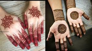 Simple Round Mehndi Design Beautiful Easy Simple Circle Mehndi Designs