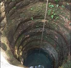 Image result for falling into a well