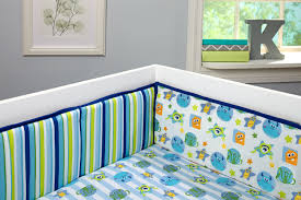Monsters On The Go Crib Bumper