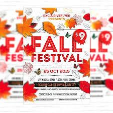 Fall Festival Flyers Template Free Fall Festival Flyer Template Free Nanny Unique Templates Examples