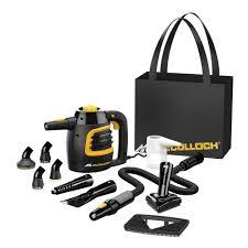 Kitchen Floor Steam Cleaner Mcculloch Handheld Steam Cleaner Mc1230 The Home Depot