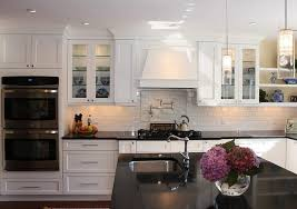 Small white kitchens with white appliances White Glass Image Of White Shaker Kitchen Cabinets Style Architectural Digest Pretty How To Paint Kitchen Cabinets White The Chocolate Home Ideas