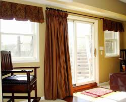 valances for bedroom windows nice home interior design idea with sliding glass door using white