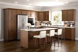 Sensational Brown Kitchen Cabinets Ready To Assemble In Montreal Rta And