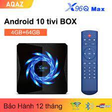 AQAZ NEW X96QMAX TIVI box Android 10 4GB 32GB / 64GB Allwinner H616 hỗ trợ  2.4g và 5g wifi Bluetooth5.0 Trình phát phương tiện thông minh 4K tv box  H.265