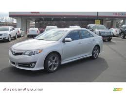2012 Toyota Camry SE V6 in Classic Silver Metallic - 002020 ...