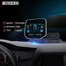 Head Up Display Optical Design Us 99 99 Obdhud C1obd Plus Gps Head Up Display Vehicle General Obd Speed Intelligent High Definition Suspension Hud Optical Projection In Head Up