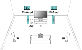 "speaker configuration and ""amp assign"" settings sr5009 pict ampassign 5 1 biamp"