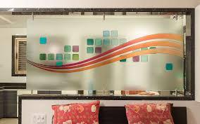 Kitchen Partition Wall Designs Partition Glass Shree Rangkala Glass Design Surat Gujarat