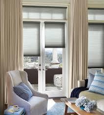 hunter douglas window treatments for sliding glass doors cleveland 44125 ara duette architella honeycomb shades